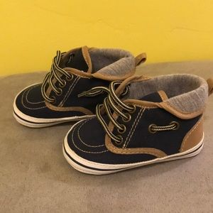 Other - Baby Hi Top Boat Shoes